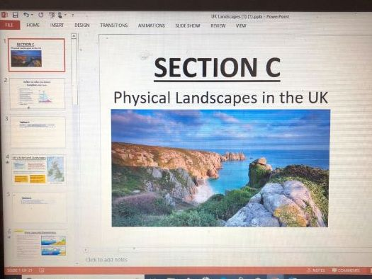 UK Landscapes Revision Resources