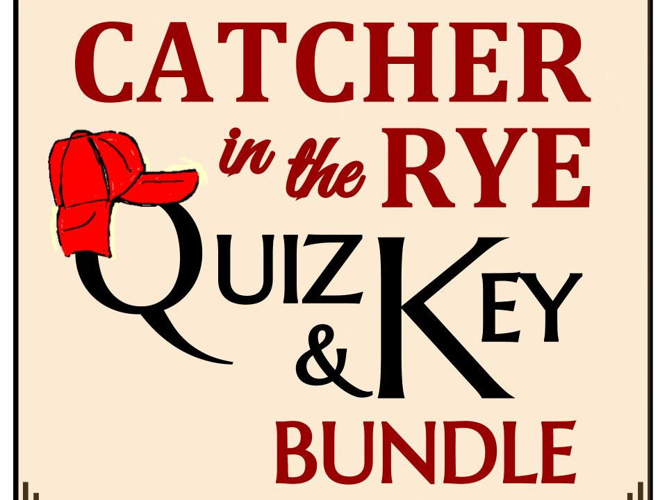 Catcher in the Rye Quiz Bundle (Set of 11)