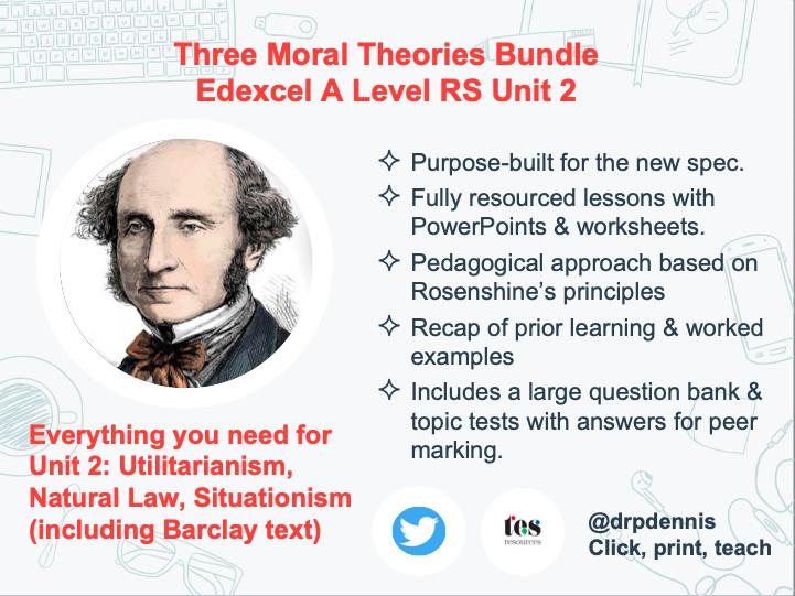 Edexcel Ethics Unit 2 Bundle (New Spec)