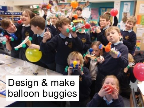 Balloon Buggies - Forces & Motion KS2/3