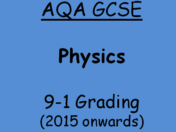AQA Physics Revision Quiz - Chapter 1 - 5