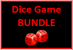 Portuguese Verbs Dice Game Bundle