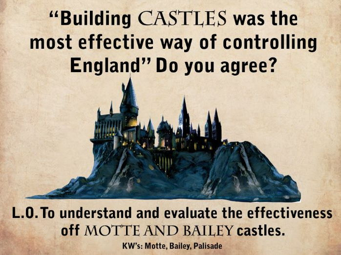 How effective were Castles as a method of control?