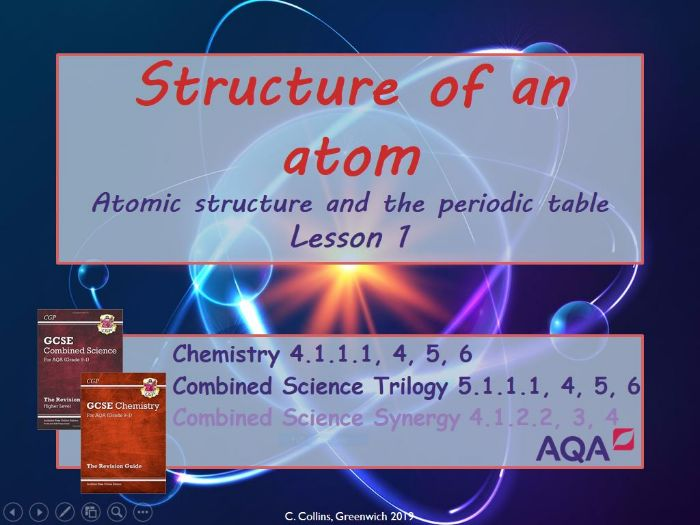 Atomic Structure #1 (AQA - Chemistry paper 1)