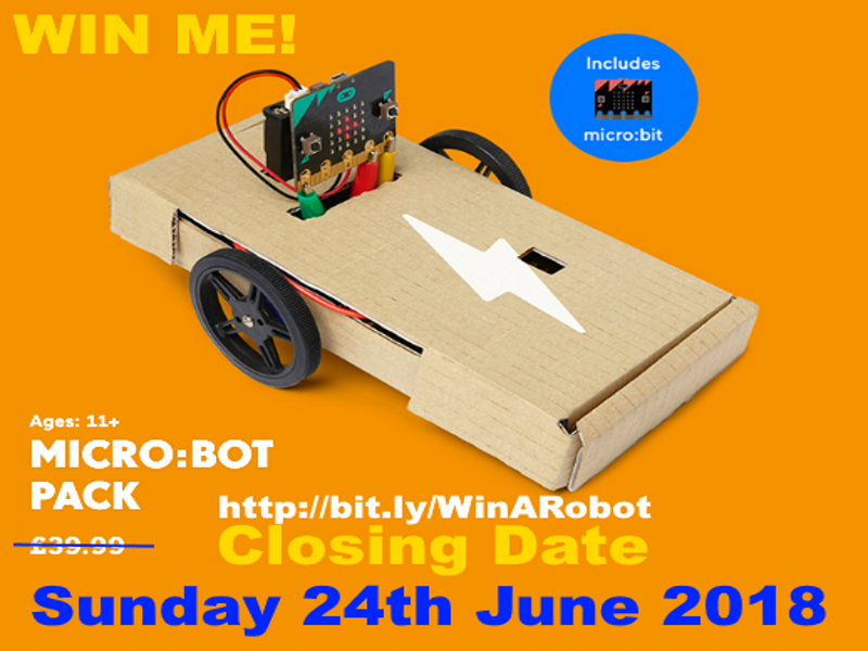 Win A Robot World Cup Football Drawing Competition