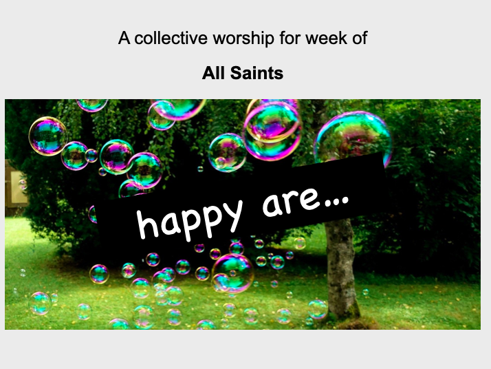 collective worship Catholic All Saints