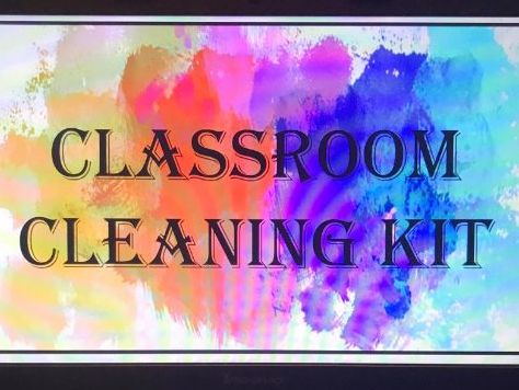 Classroom Cleaning Kit