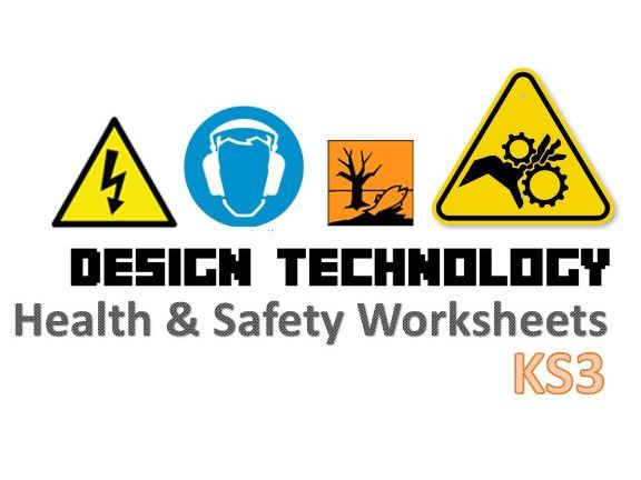 KS3 Design Technology Safety Worksheets