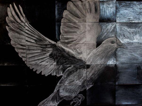 Collaborative Dove of Peace project