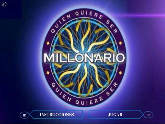 Who wants to be a millionaire - Interactive game focused on past tense holidays (Spanish)