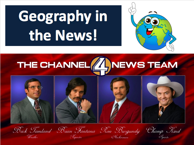 Geography in the News - Around the World!