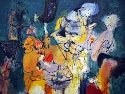 Arshile Gorky in his artist quotes on painting, Cubism & life - free resource, American art history