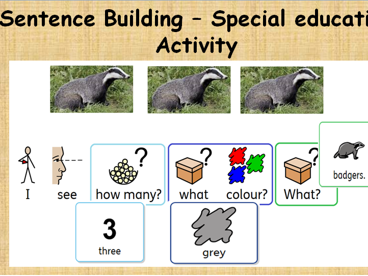 I see ...Interactive Activity for SLD and MLD Learners in widgit software