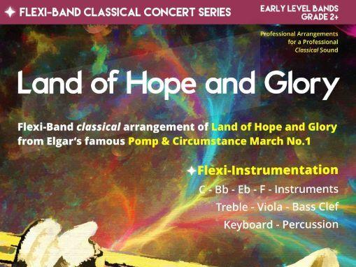 Land of Hope and Glory (Flexi-Band Score & Parts)