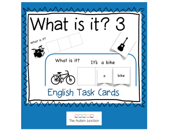 What is it? English Task Cards 3