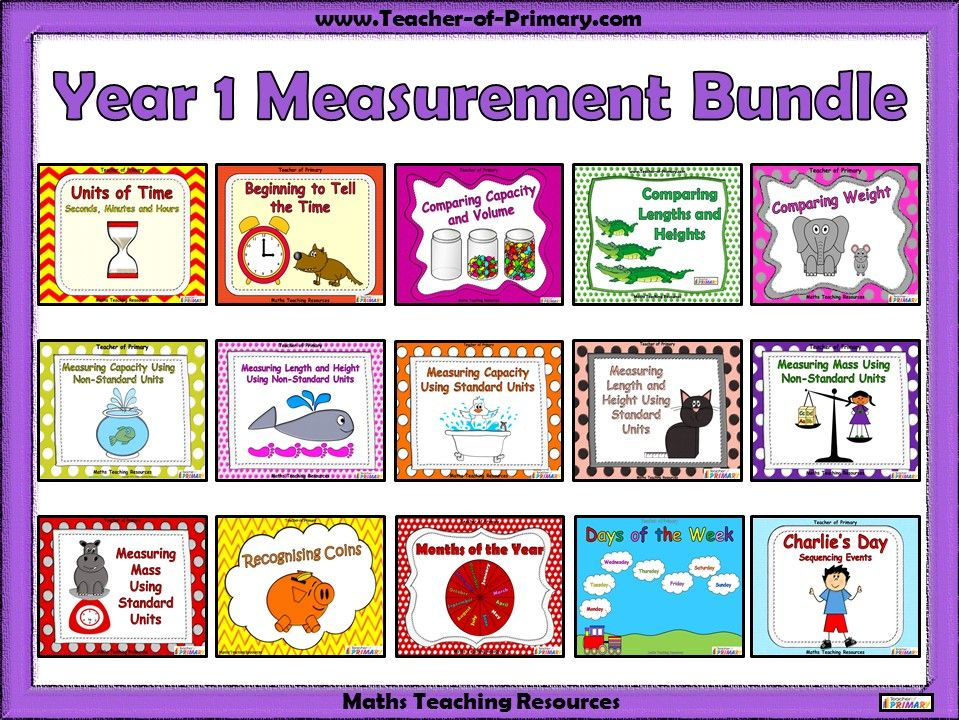 Year 1 Measurement Bundle