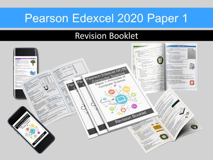 Revision Guide Booklet - Pearson Edexcel GCSE Computer Science - 1CP2 (2020) Paper 1