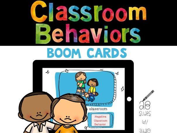 Classroom Behaviors: Positive vs Negative
