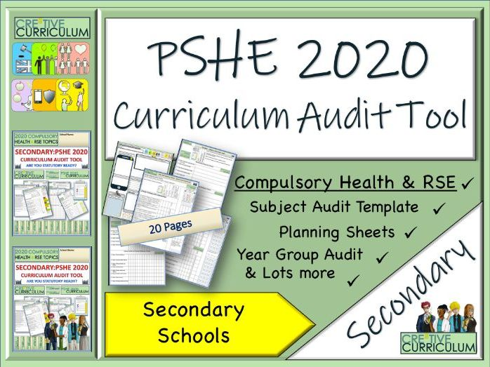 PSHE Audit tool - Secondary Curriculum PSHE 2020