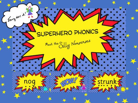 Silly Nonsense Words Phonics PowerPoint - Phonics Screen Preparation Aid