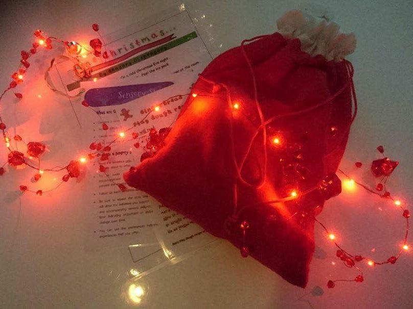 One Christmas... (A sensory story )
