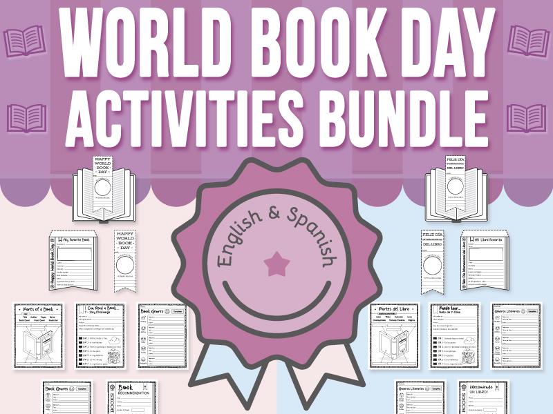 World Book Day Activities BUNDLE