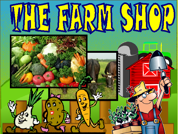 FARM SHOP ROLEPLAY EYFS KS1 CLASSROOM DISPLAY