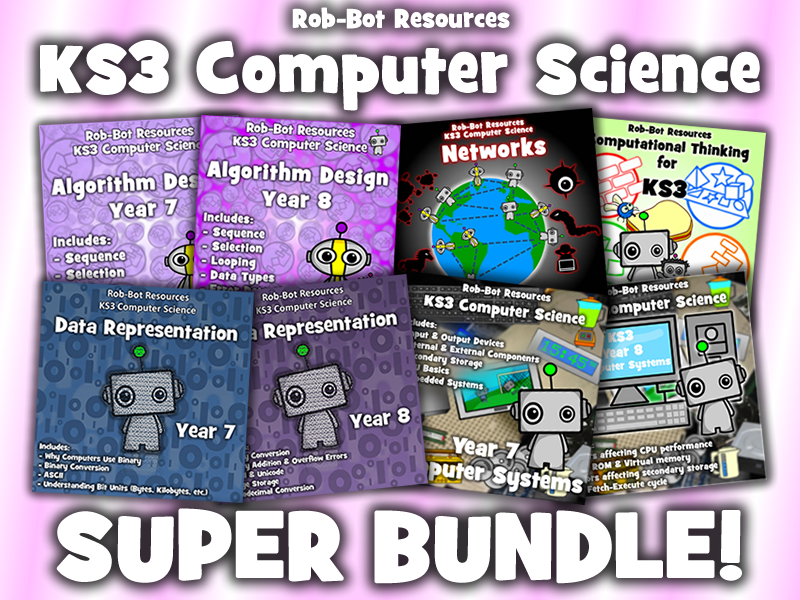KS3 Computer Science SUPER BUNDLE!