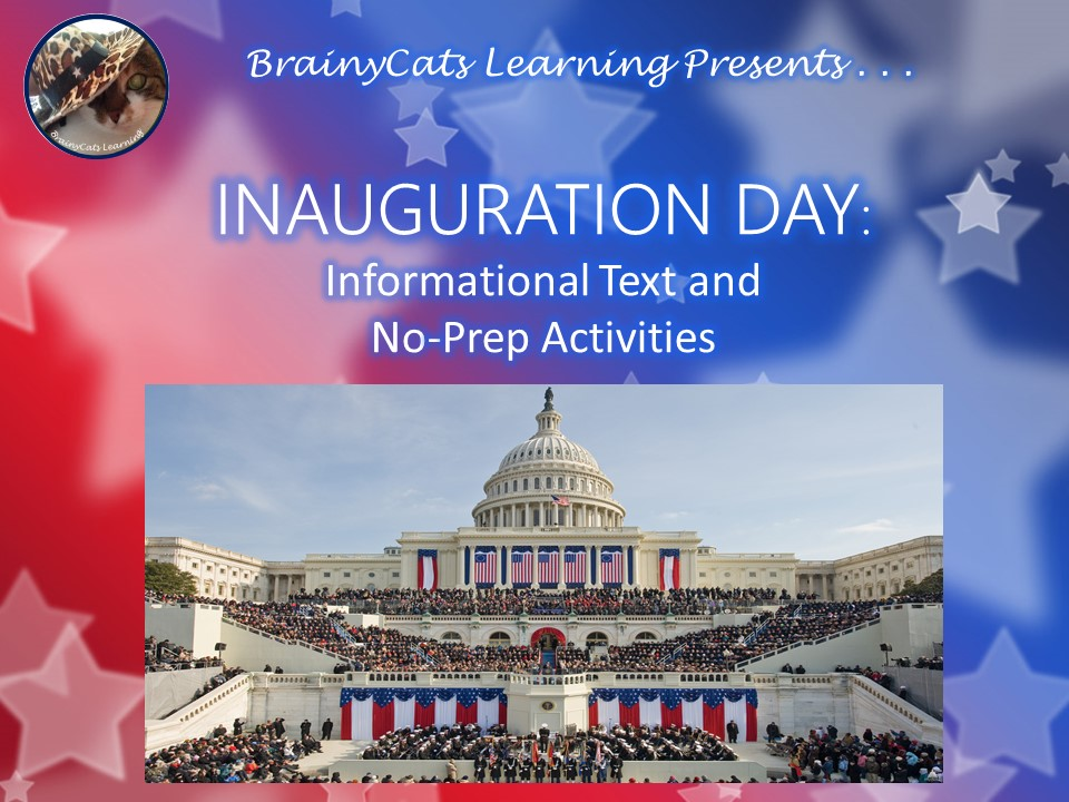 Inauguration Day: Informational Text and No-Prep Activities