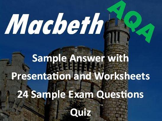 Macbeth GCSE Revision Bundle