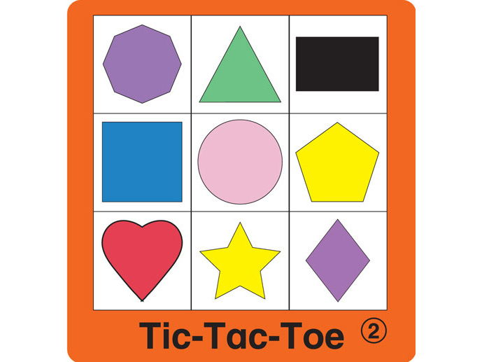 ESL Games - Shapes Tic-Tac-Toe