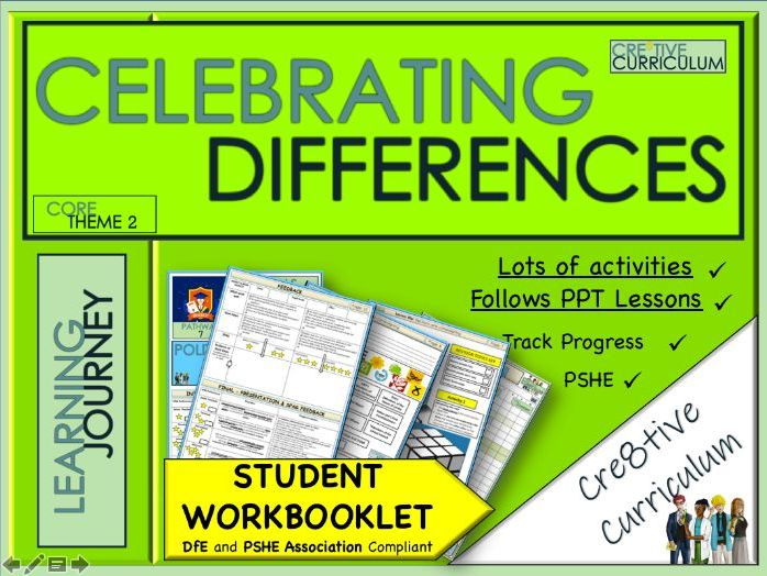 Equality Work Booklet - PSHE
