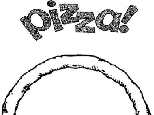 Cut and stick PIzza KS1