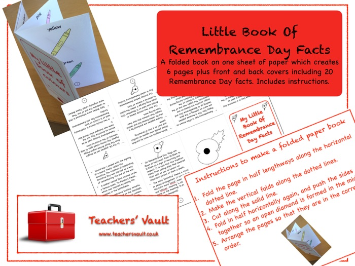 Little Book Of Remembrance Day Facts