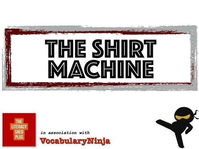 The Shirt Machine Vocabulary Pack