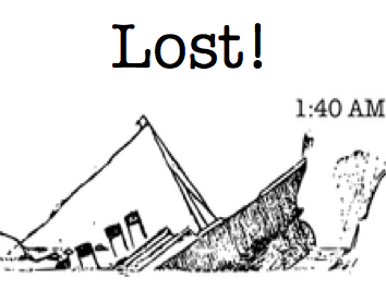 Lost! ESL Discussion Activity