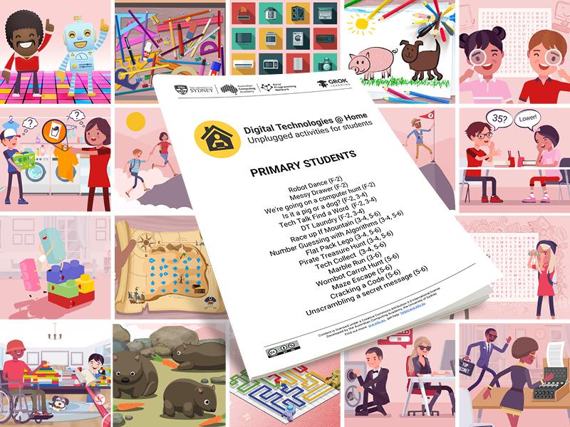 DT @ Home Primary Workbook (computing activity)