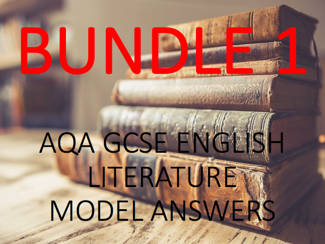 GCSE English Literature Model Answers