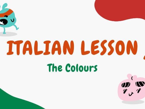 Colours in Italian