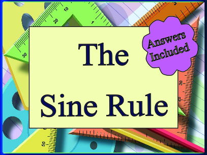 The Sine Rule - 20 Questions with answers