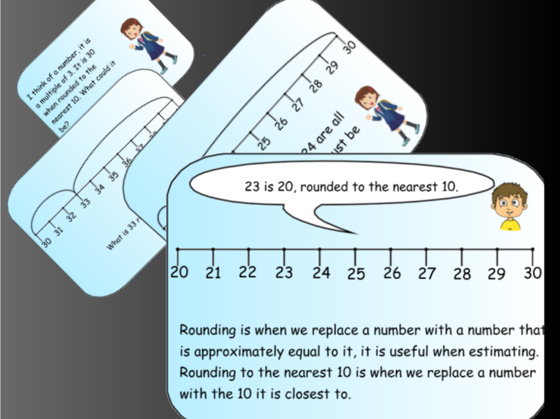 Year 4 Number and Place Value Bundle