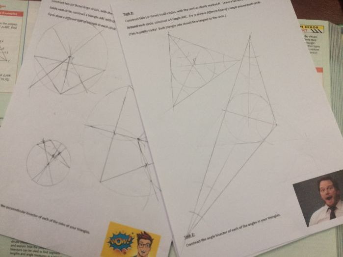 Discovery Activity: Circles and Triangles