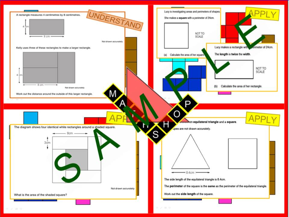 Area and Perimeter Exam Questions (1 Lesson)