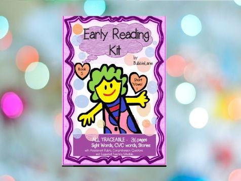 Book 5 - Sight Word Take Home Folder for Emergent Readers