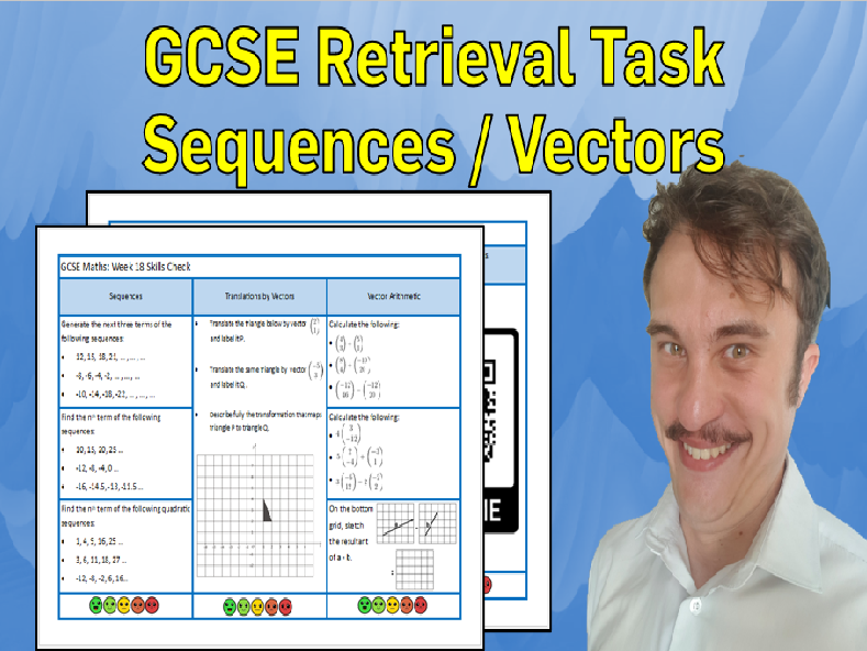 Sequences and Vector Arithmetic GCSE Foundation/Resit Retrieval Sheet