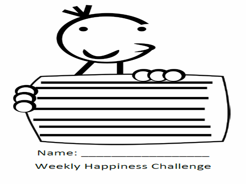 Weekly Happiness Diary - 7 Reasons to be cheerful...