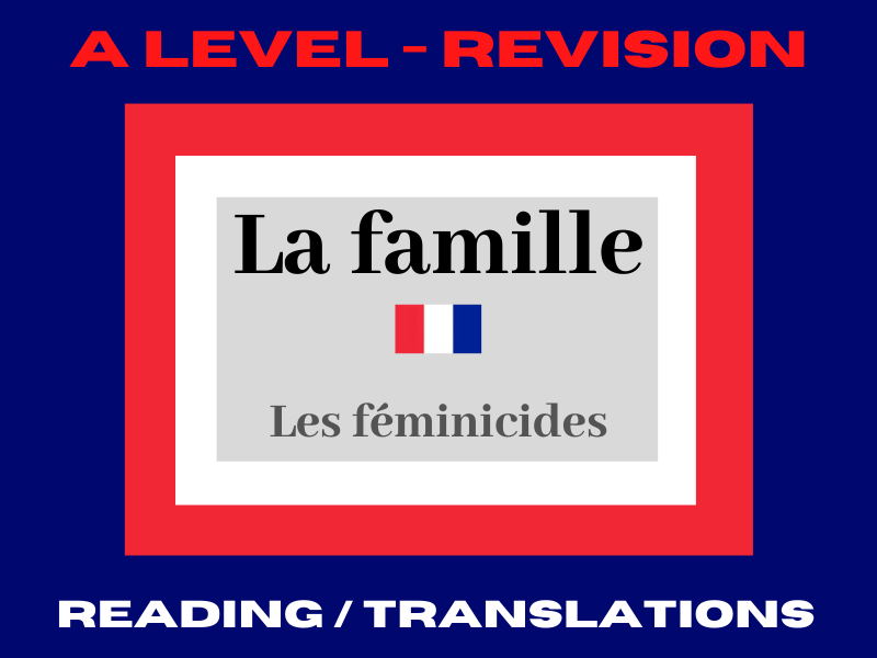 French A level féminicides