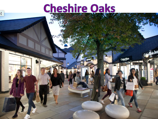 KS3 Settlements - Cheshire Oaks