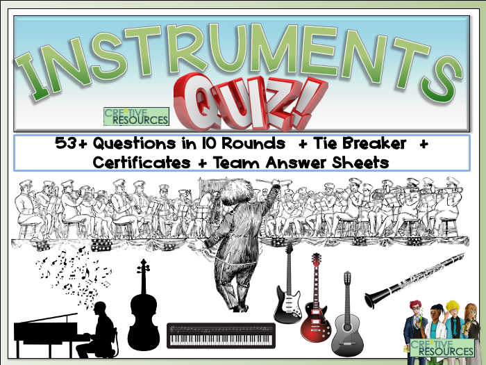 Musical Instruments Quiz