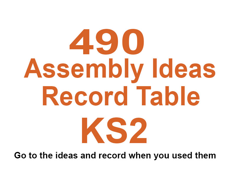 Assembly Videos 490 KS2 With Record Table